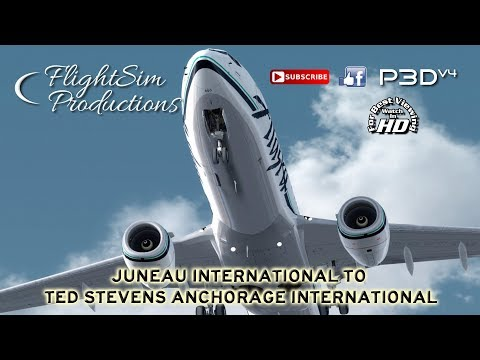 [Prepar3d] Juneau International to Ted Stevens Anchorage International