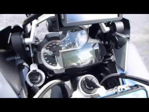 BMW R1200GS Adventure Accessories - YouTube