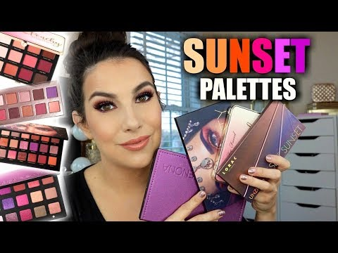 """WHICH IS BEST? """"Sunset"""" Eye Palettes thumbnail"""