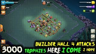 clash of clans now to 3000 trophies   bh4   the paddedroom   coc