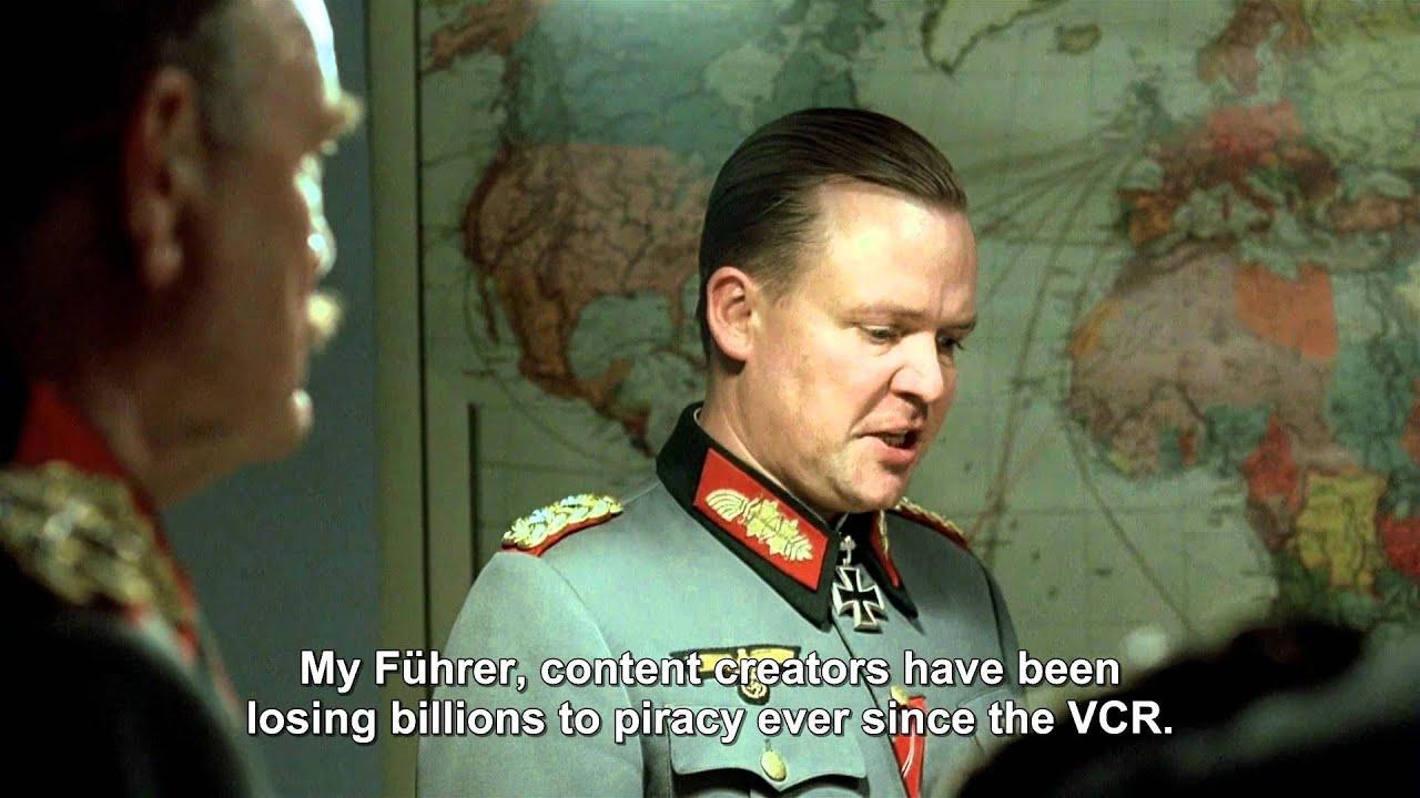 Ein Nazi-General spricht über Videorekorder und Urheberrecht