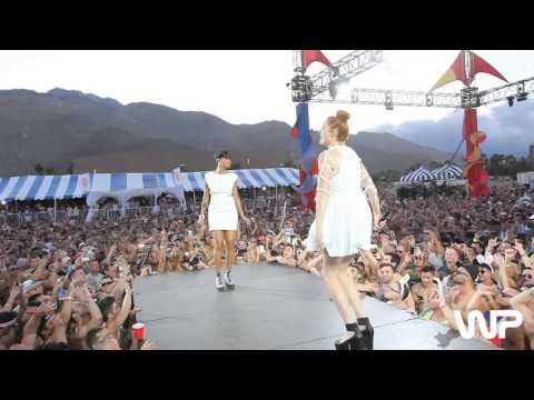 "White Party 2013 - Icona Pop - ""I Love It"" Performance"