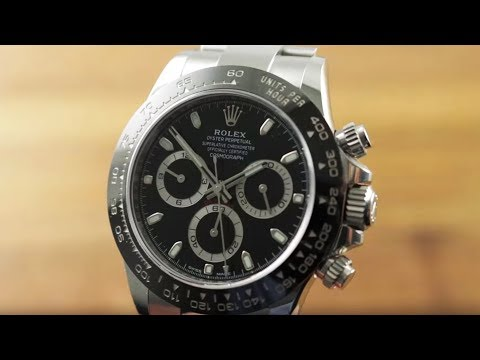 Rolex Daytona Steel Ceramic 116500LN Rolex Watch Review