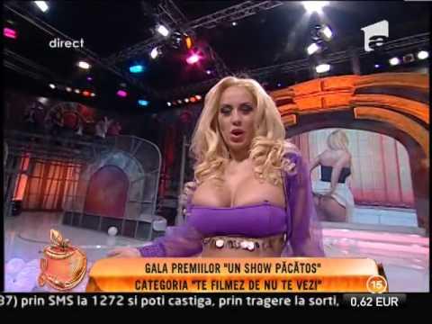 Simona Traşcă, dans sexy din buric