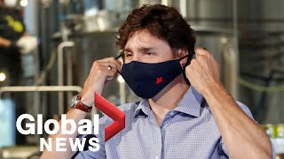 Coronavirus: Trudeau addresses Hong Kong, WE charity and government's COVID-19 response | FULL