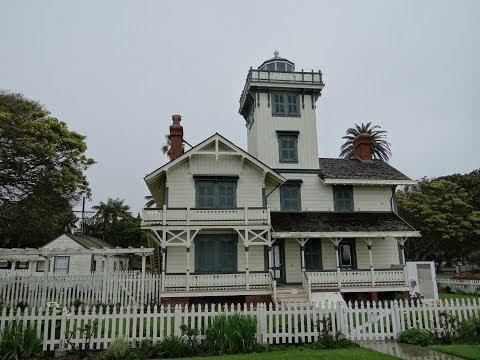 San Pedro, California - Point Fermin Lighthouse HD (2014)