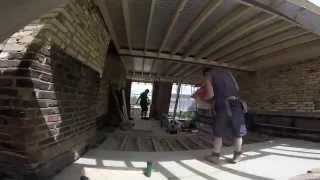Building a Mansard roof extension in 30 secs in Fulham SW6 by Ash Island Lofts