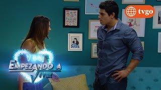 ¡Sergio le hace daño a Rosy por sus celos enfermizos! - VBQ Empezando a Vivir 14/02/2018