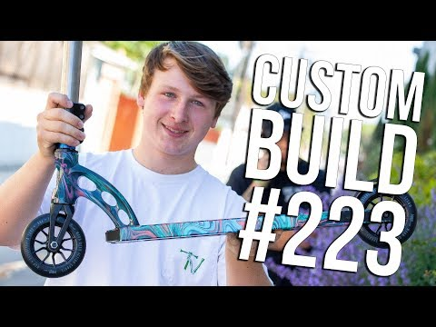 Custom Build #223 (ft. Liam Fellows) │ The Vault Pro Scooters