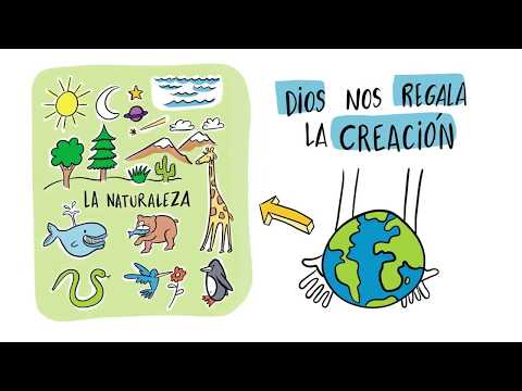 nuestra-casa.-religión-católica.-el-regalo-de-la-creación-(visual-thinking)