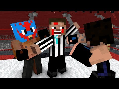 Monster School: WWE PART 2 - Minecraft Animation