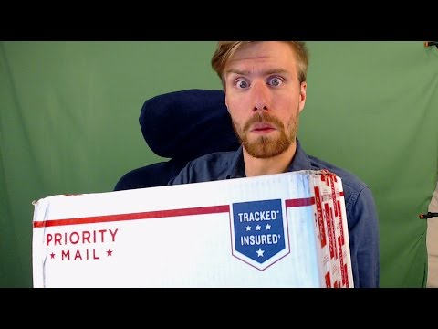 LIVE || We Got Our First Package! Let's See What's Inside...
