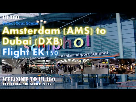 Splendid Schiphol Airport | Fabulous Duty Free | Emirates | Aboard Entire Flight | B777-300 | EK150