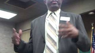 Keith Branch for JUDGE, Harris County, Texas Spoke at the Monthly BAND Meeting (Nov. 2009)