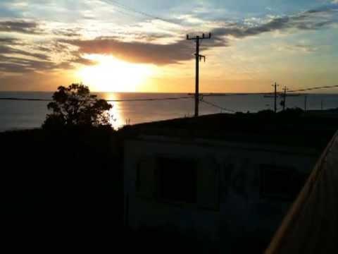 Sunset at Sint Eustatius (Statia)