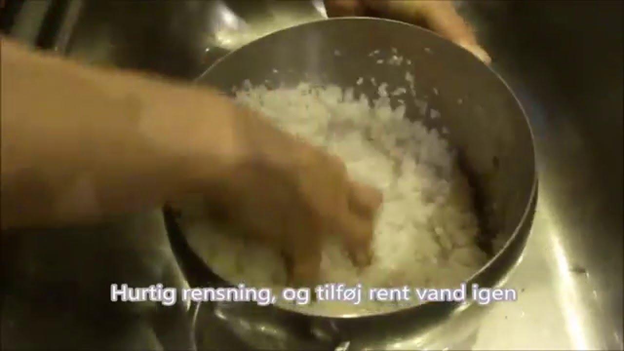 Hvordan koger man japansk ris? - YouTube