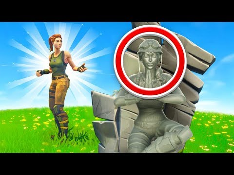 Fortnite I Am Stone Challenge (Very Broken)