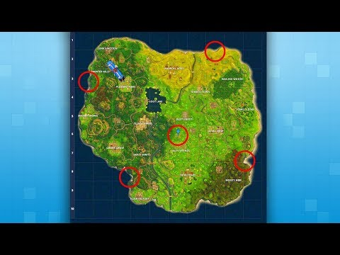LOOKING FOR *SECRET* HIDDEN OUT OF MAP LOCATIONS | Fortnite Battle Royale