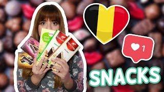 Δοκιμάζω Snacks από το Βέλγιο! | Miss Madden