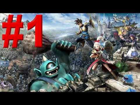 Dragon Quest Heroes Gameplay ITA Walkthrough Episodio #1 [PS4]