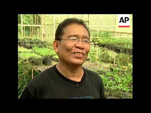 Philippine farmer promotes bio farming