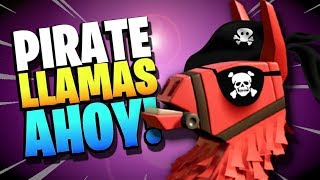 Fortnite Save the World PIRATE LLAMA opening!