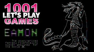 Eamon (Apple II) - Let's Play 1001 Games - Episode 106