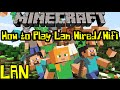 How to play Minecraft Lan with Wired and Wireless(wifi)