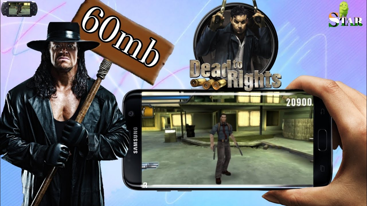 Download Dead To Rights Highly Compressed ppsspp Iso Game for Android | Hd  Gameplay | By Androstar