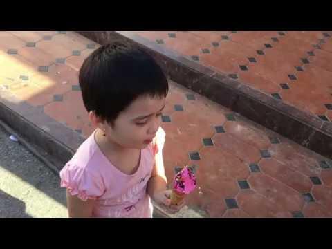 The Best Icecream Sabina ever ate. Tashkent