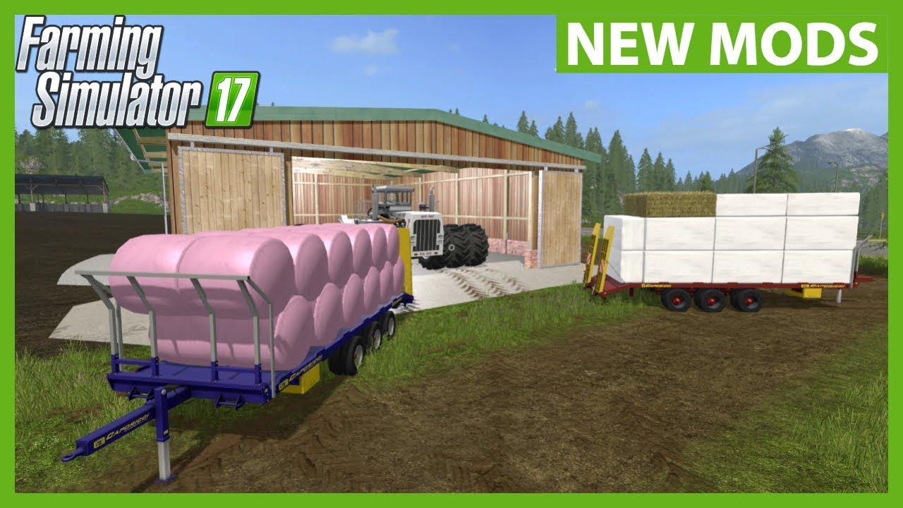 NEW AUTO LOAD BALE TRAILERS! | FS17 Mods