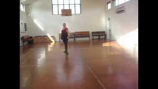 Voulez Vous Danser line dance - Gaye Teather