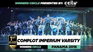 COMPLOT IMPERIUM VARSITY | 1ST Place JR Team| Winners Circle | WOD PANAMA 2018 | #WODPANAMA2018