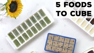 5 Foods You Can Freeze in Ice Cube Trays | Food Network