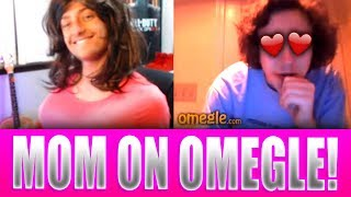 Guys Fall For FAKE MOM on OMEGLE! (Hilarious Reactions!)