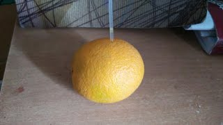 Easy way to drinks orange (Without cutting )