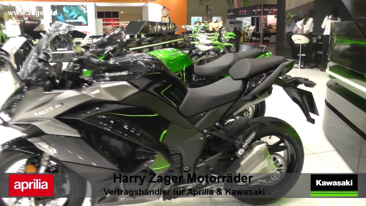 Kawasaki Z1000SX ABS 2017 Alle Farben