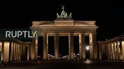 LIVE: Berlin's Brandenburg Gate goes dark for Earth Hour