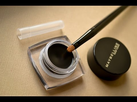 Maybelline Lasting Drama Gel Eye Liner Review Youtube