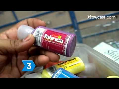 How to Choose a Good Fabric Paint