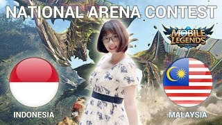 INDONESIA VS MALAYSIA - National Arena Contest Cast by Kimi Hime - 19/05/2018