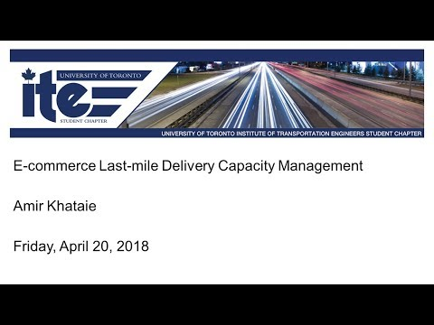 UT-ITE Seminar - April 20, 2018 - Amir Khataie