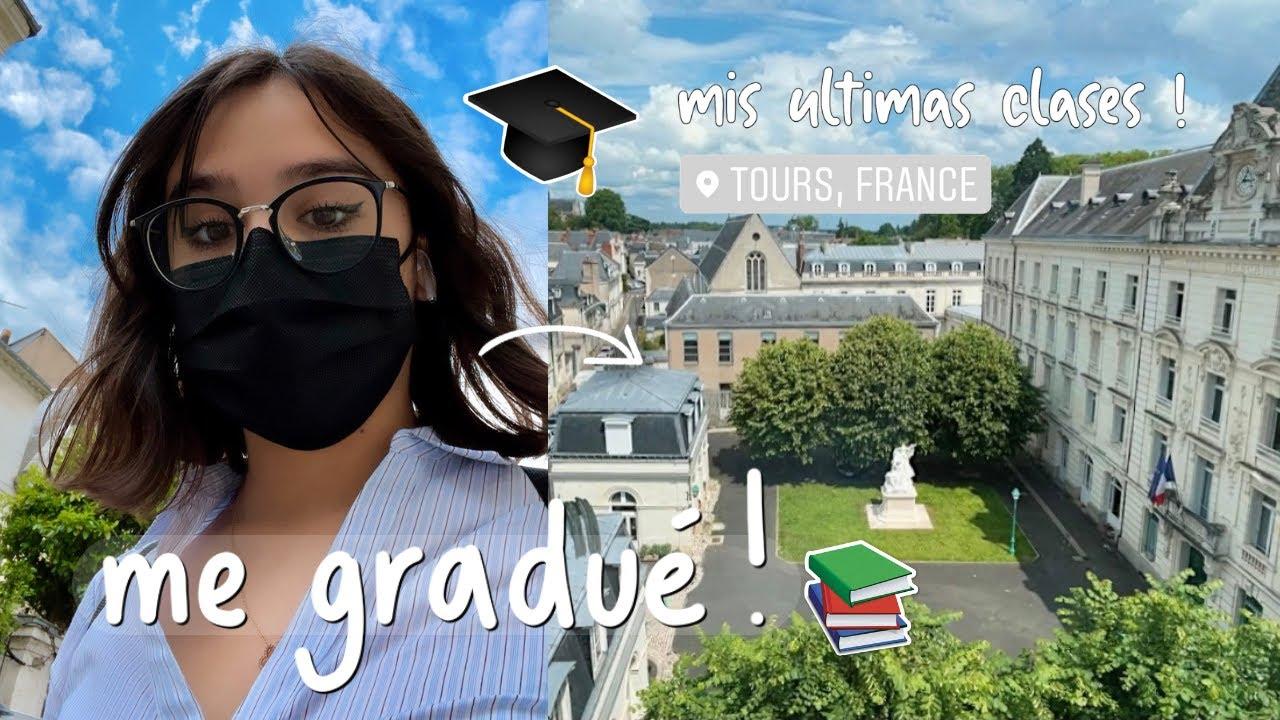Me Gradué! Mi Última Semana de Clases para Siempre (Vlog)