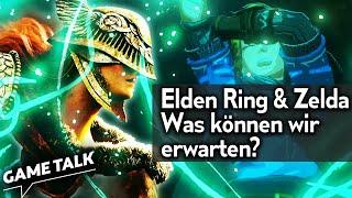 Wir analysieren den Elden-Ring- und Zelda-Trailer mit Eddy! | Game Talk