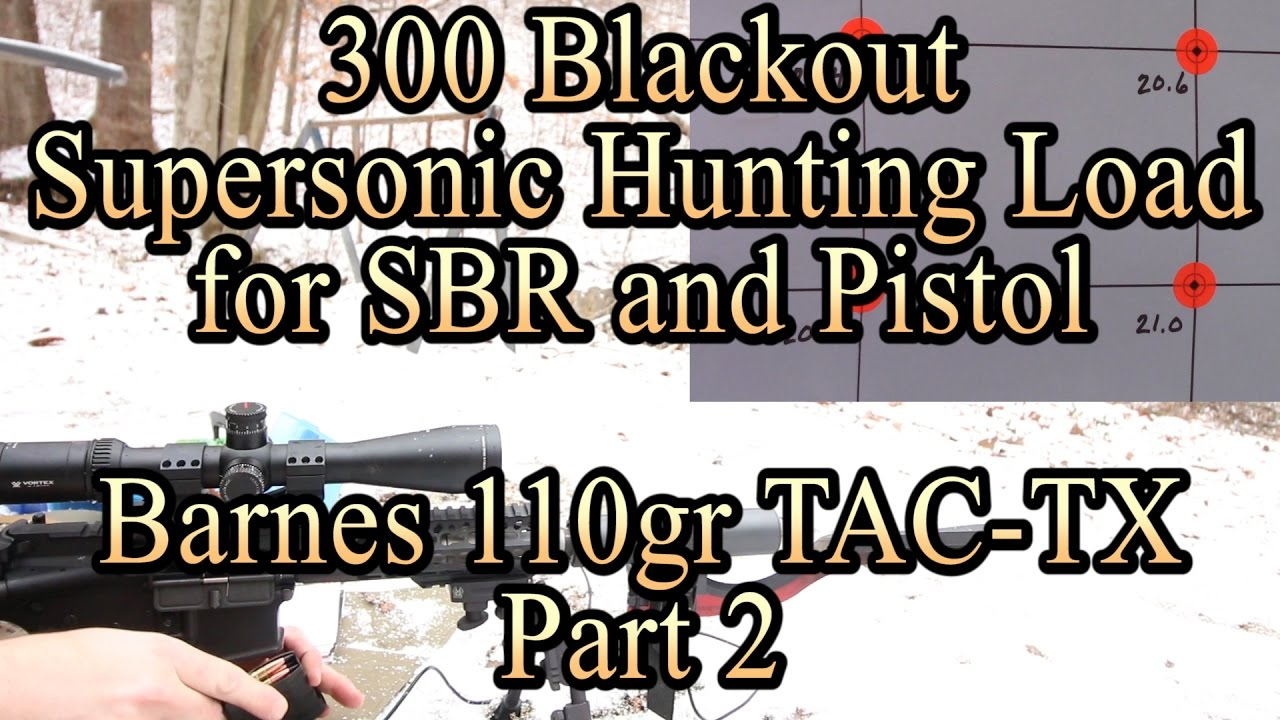 300blk loads | Sniper's Hide Forum