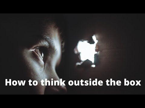 How to think outside the box - Webinar