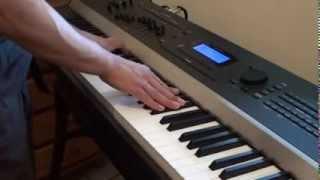 Ariana Grande - Honeymoon Avenue - Piano Cover Version on Kurzweil Artis