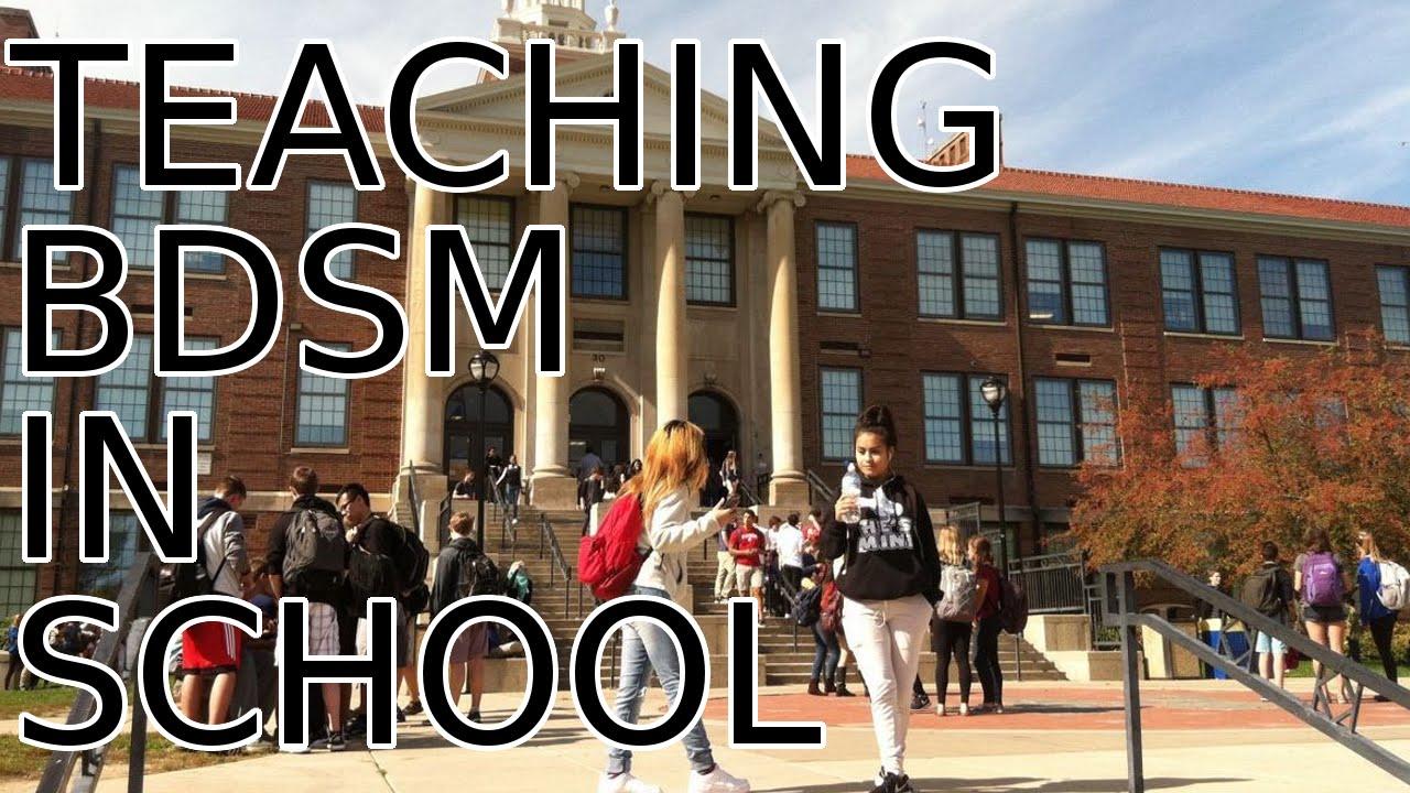 Teaching BDSM in School - YouTube