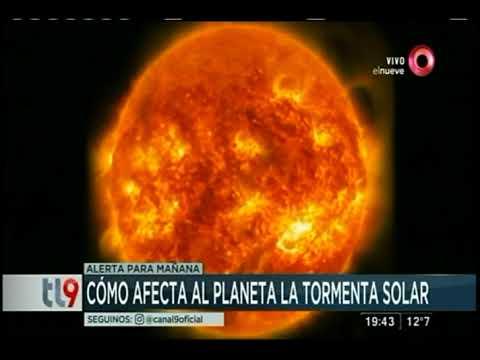 Cómo afecta al planeta la tormenta solar