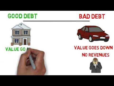 Debts : Good Debt Vs Bad Debt